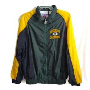 Other - Green Bay Packers Jacket Sz XL 18 / 20 Windbreaker
